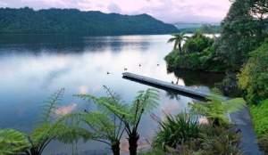 Lake Okereka in Rotorua