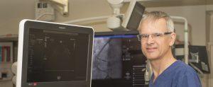 Dr Paul Bridgman at work